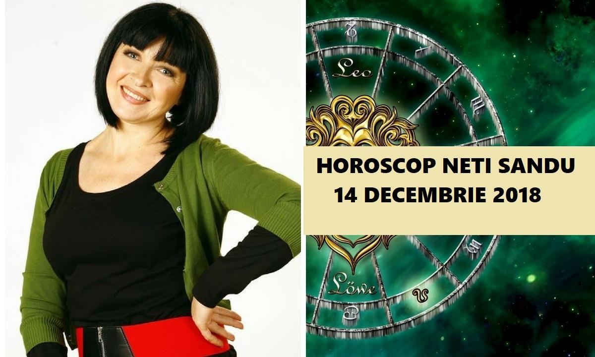 Horoscop Neti Sandu 14 decembrie 2018. Zodia care cunoaște marea dragoste azi
