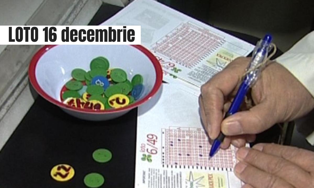Rezultate Loto 16 decembrie. Numerele la Loto 6/49, Joker şi celelalte jocuri