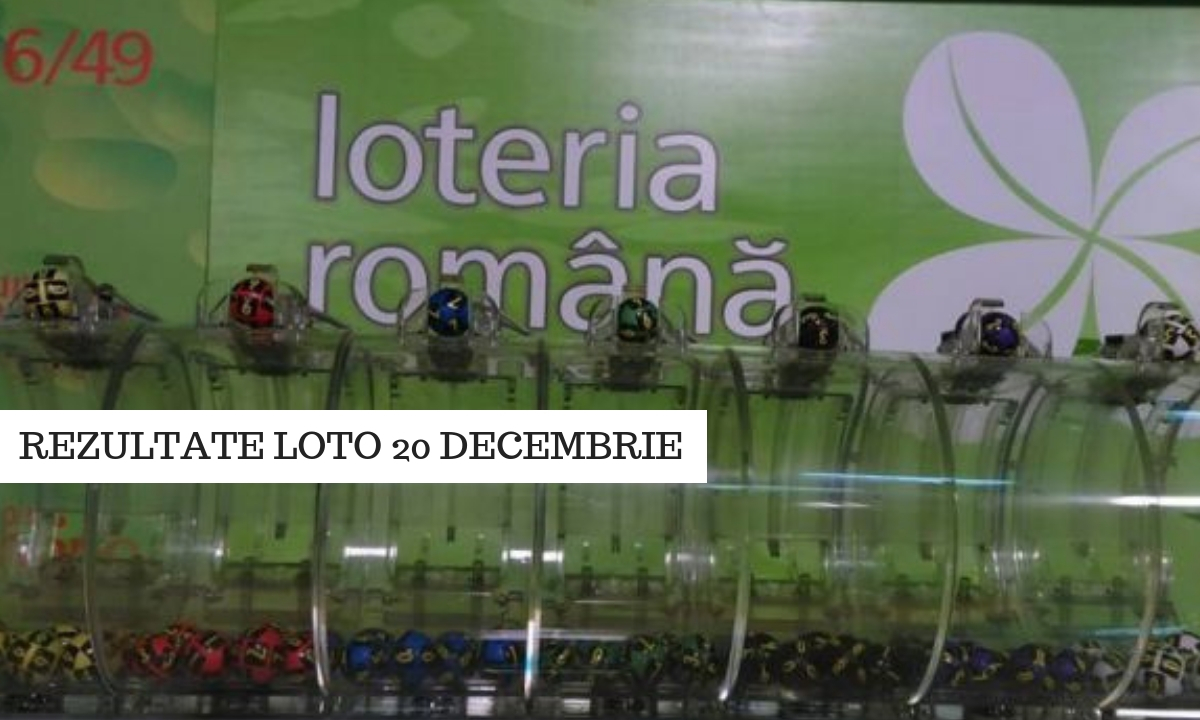 Rezultate Loto 20 decembrie. Numerele la Loto 6/49, Joker, Noroc etc.