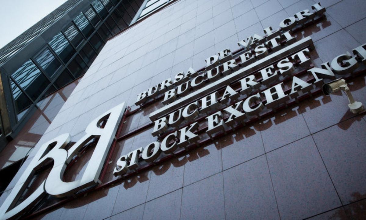 Bursa de Valori București a început săptămâna în scădere
