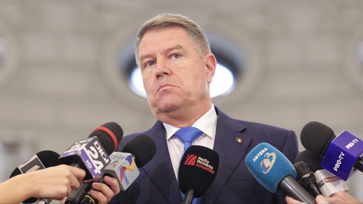 Klaus Iohannis convoacă referendum pe 26 mai
