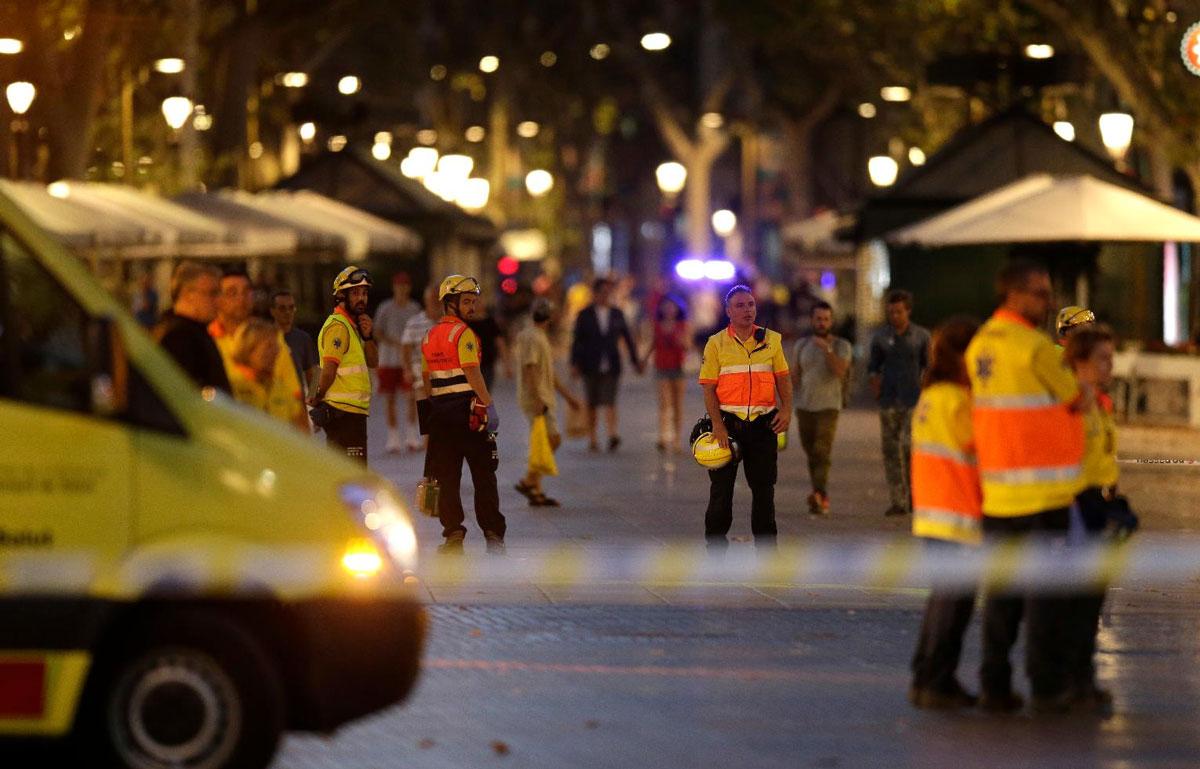 Barcelona: Atentat terorist, dejucat de polițiști