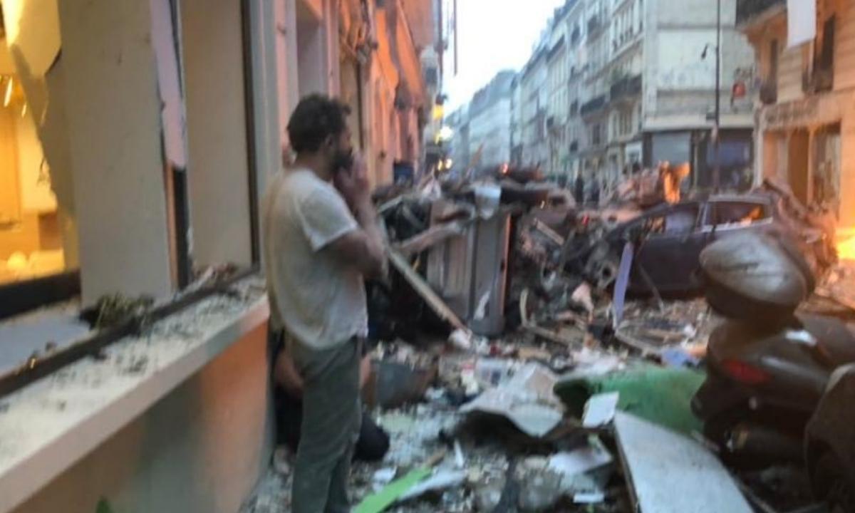 Explozie la Paris - Mai multe persoane au fost rănite