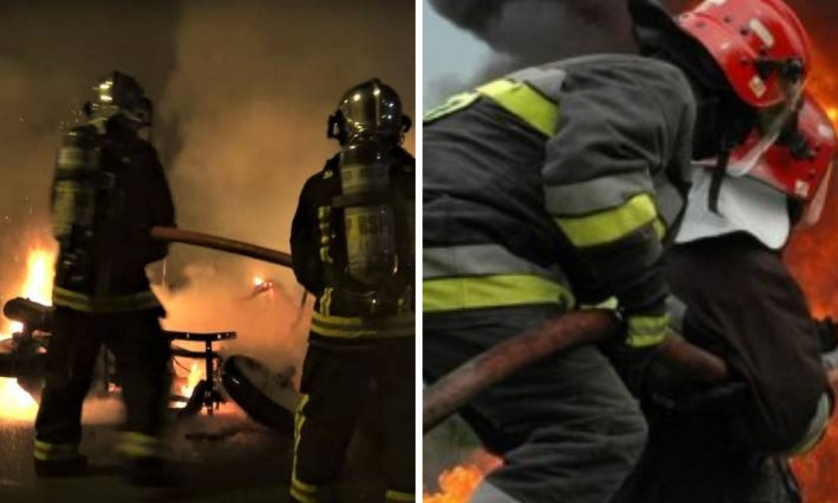 Incendiu în Târgu Mureș - 18 persoane, evacuate
