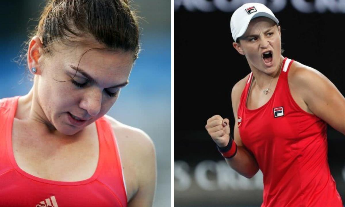 Simona Halep, învinsă de Ashleigh Barty la primul meci jucat în 2019