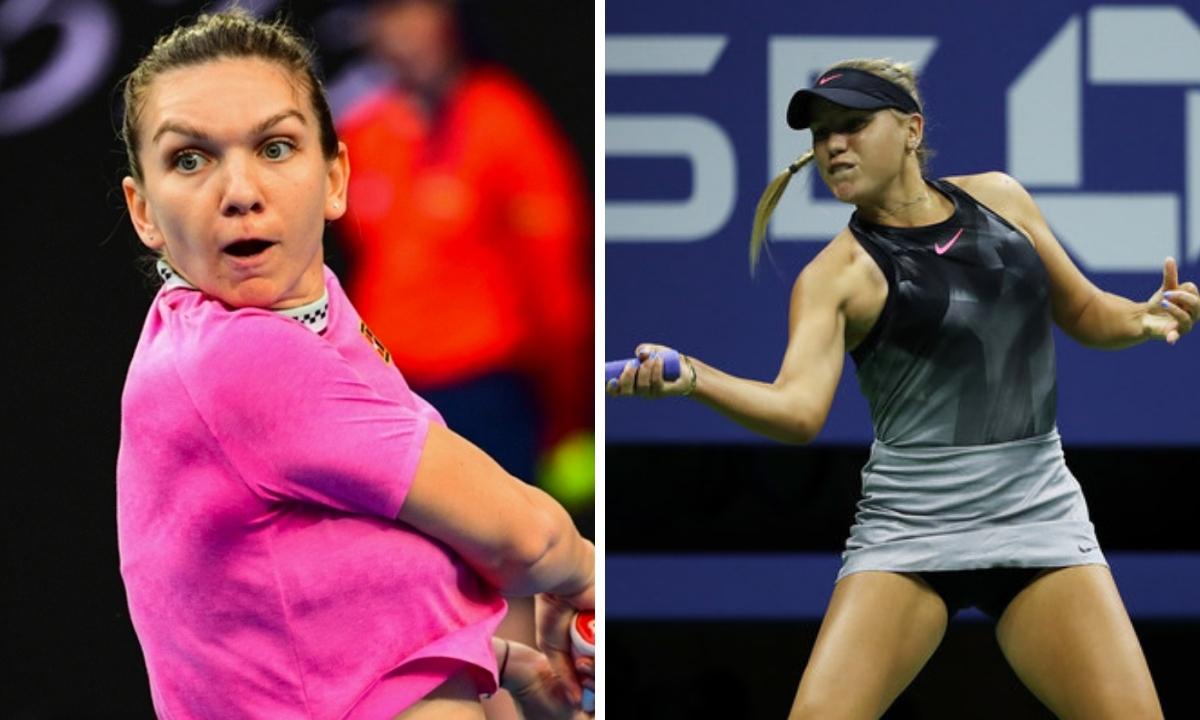 Simona Halep - Sofia Kenin scor 6-3, 7-6 la Australian Open