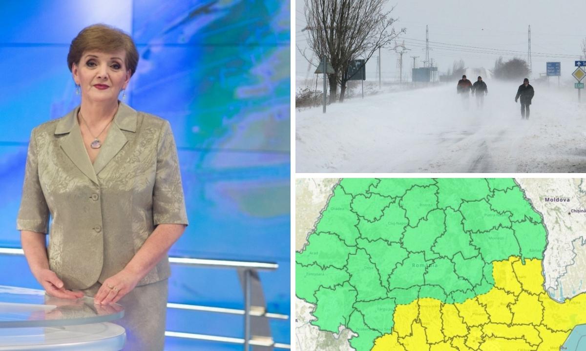 ANM: Vremea în intervalul 14 - 27 ianuarie 2019. Prognoza pe regiuni