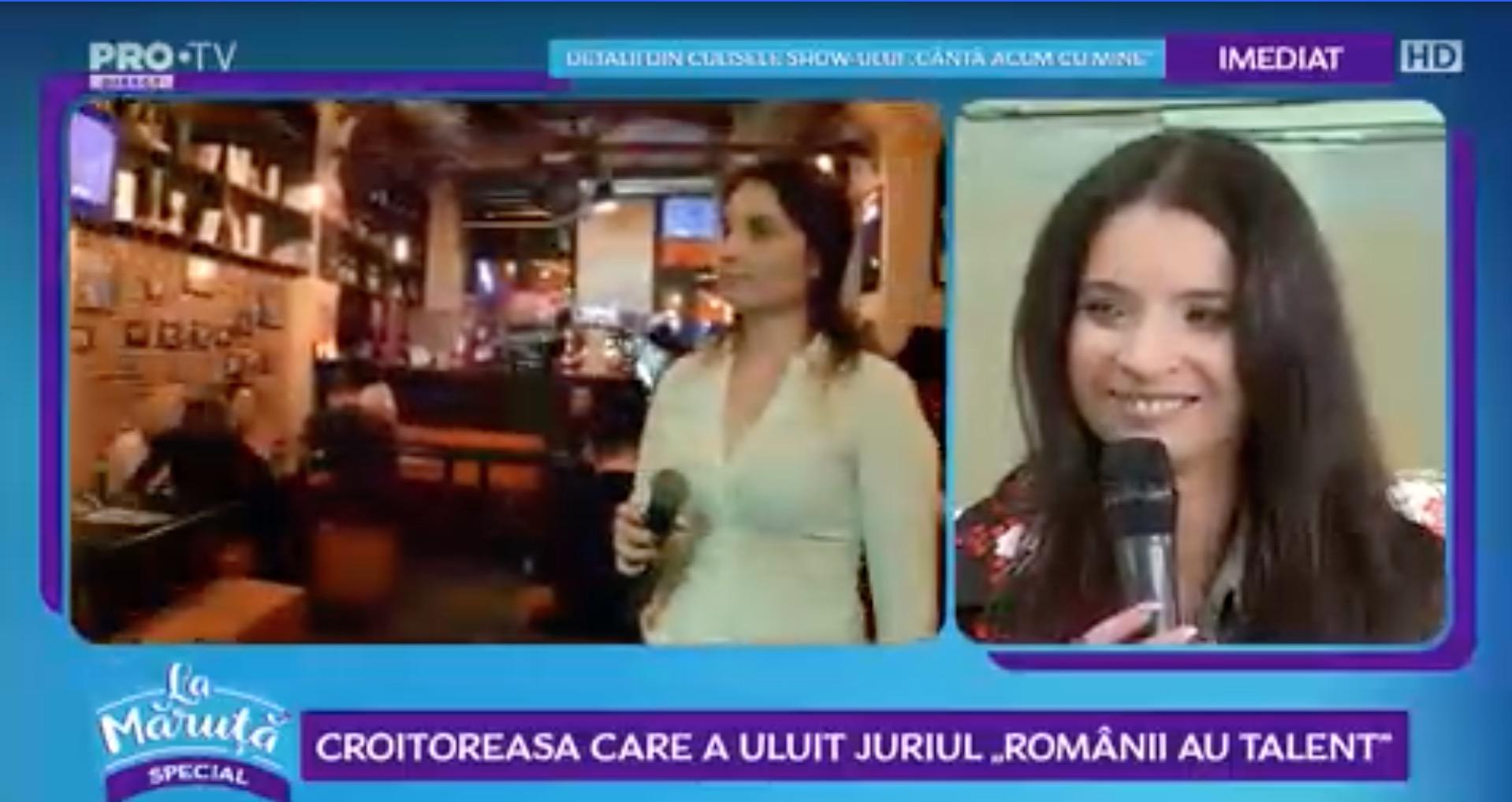 """Ana Maria Pantaze a fost """"La Măruță"""". A câștigat Românii au talent golden buzz-ul"""