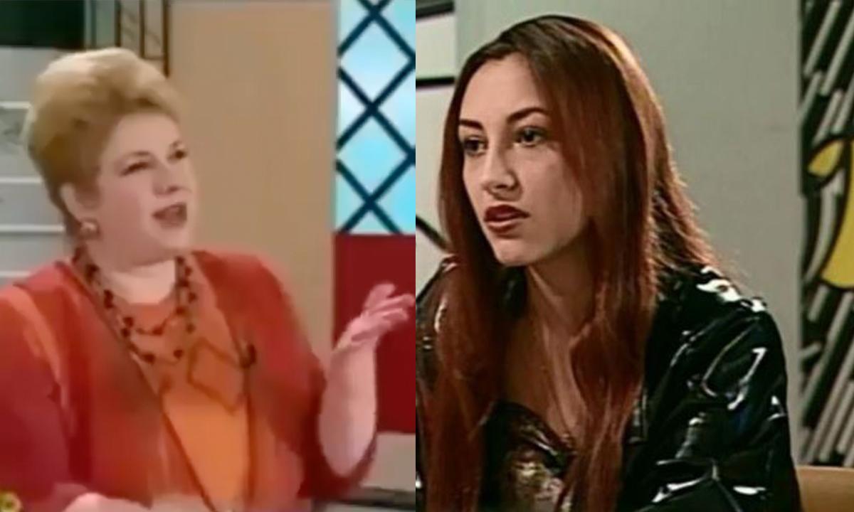"""Andra prima apariție la TV la Teo: """"Vreau să mă fac secretară"""""""