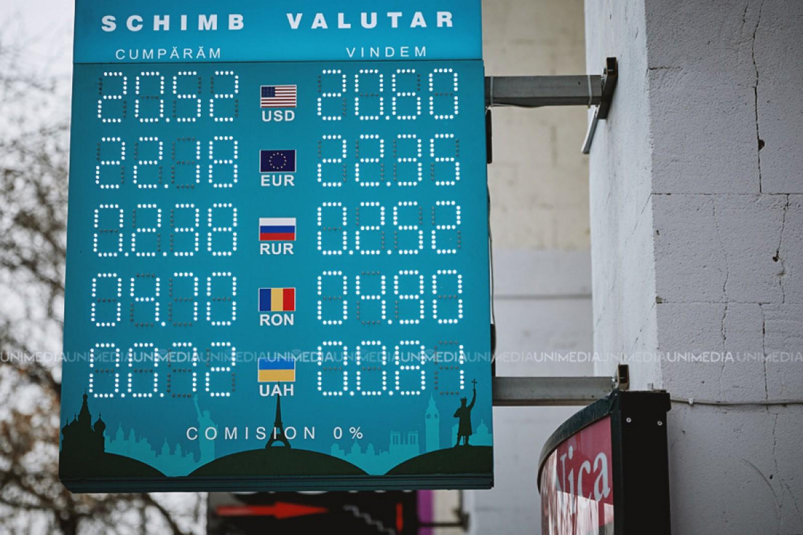 Curs valutar 25 februarie 2019 - BNR a anuțat cât costa azi 1 euro
