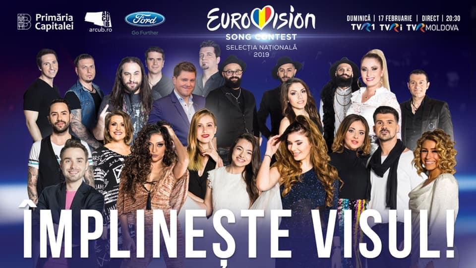 Finala Eurovision România 2019, câștigătorul reprezință țara noastră la Tel Aviv