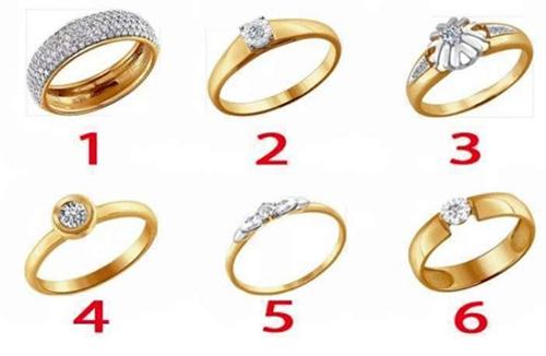 Test. Alege un inel