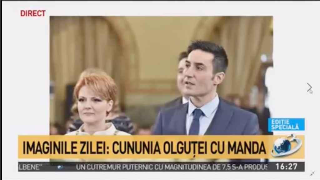 Nunta Olguța Vasilescu și Claudiu Mandea – primele imagini