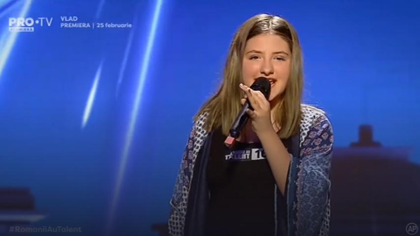 Românii au talent Ioana Chirilă a impresionat juriul cu vocea sa