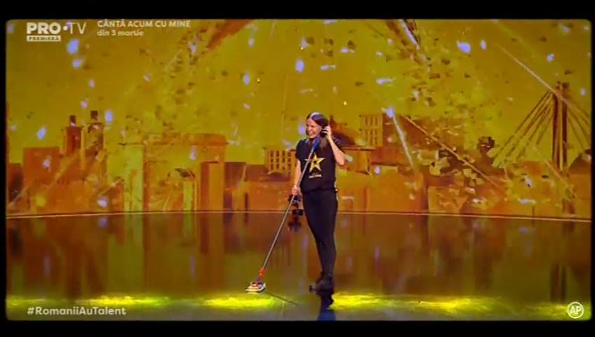 Ea primește Golden Buzz astăzi la Românii au talent
