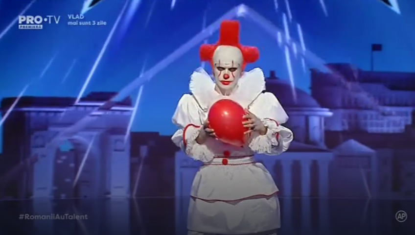 Clown Românii au talent