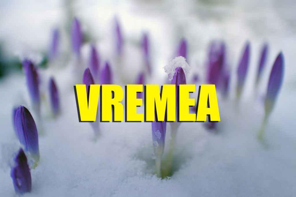 Vremea 1 martie 2019 - Temperaturi neobșinuite. Prognoza ANM până pe 10 martie
