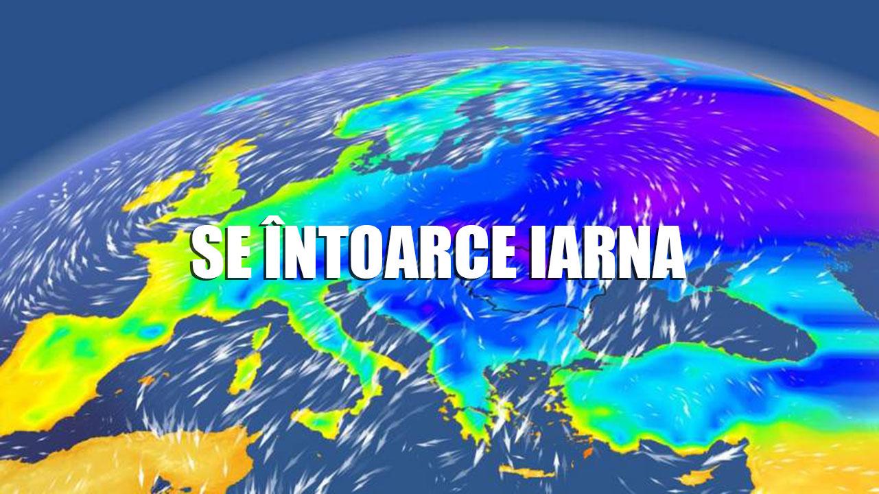 Vremea săptămâna 18 - 24 februarie. Iarna se întoarce în forță. Temperaturile scad cu 20 de grade