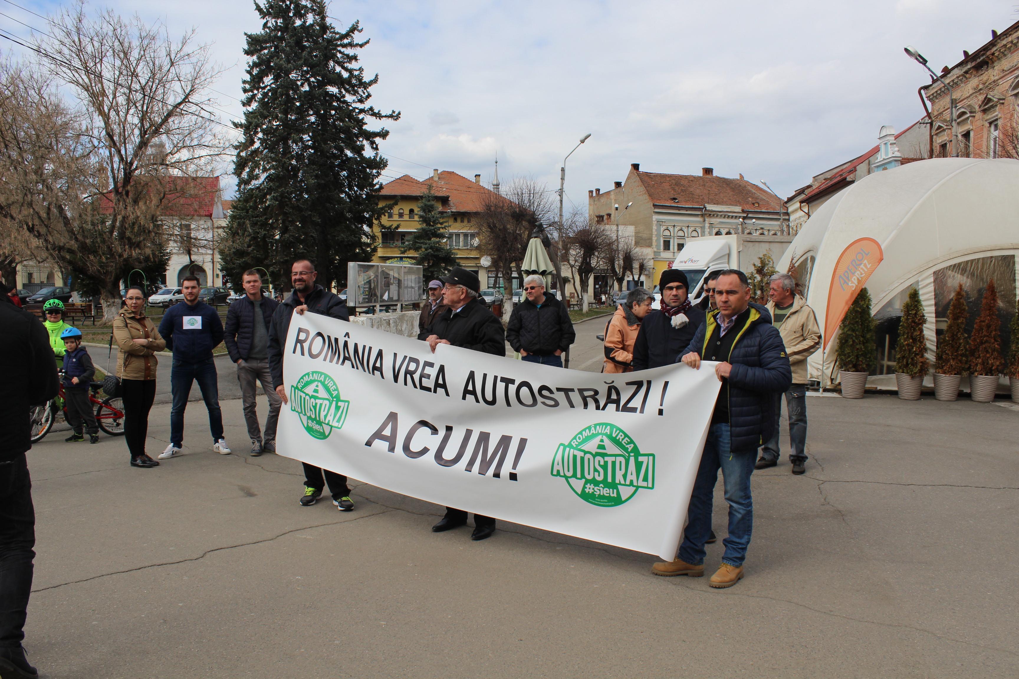 Alt protest de 15 minute, lansat în Gorj: Să planteze fiecare om un pom