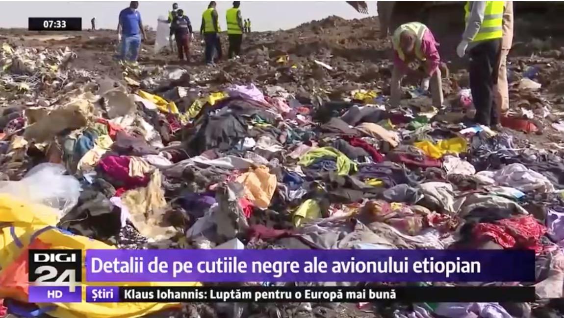 Informații noi despre prăbușirea avionului Boeing 737 MAX din Etiopia. Ce s-a întâmplat la decolare