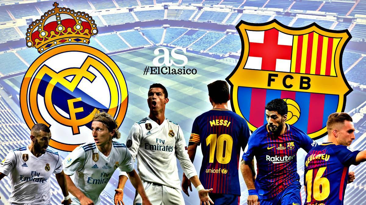 Real Madrid - Barcelona Live SCOR - La liga - Vezi online live stream