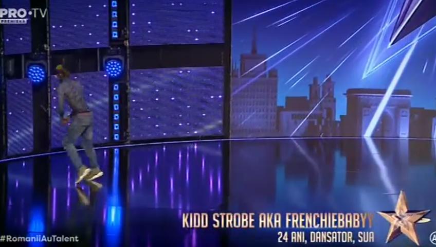 Românii au talent: Kidd Strobe Aka Frenchiebabyy Andi Moisescu i-a oferit Golden Buzz 8 martie