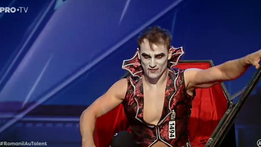 Lucian Răducanu, cu 7 hernii de disc, acrobații de-ți stă inima în loc VIDEO