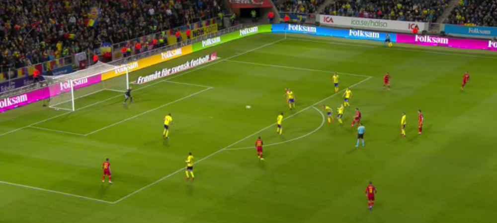 Suedia - România live Scor 2-0 preliminariile Euro 2020