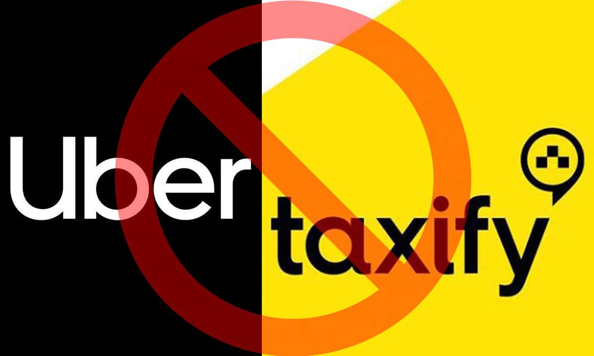 Uber și Taxify interzise de guvernul României. Victorie pentru taximetriști