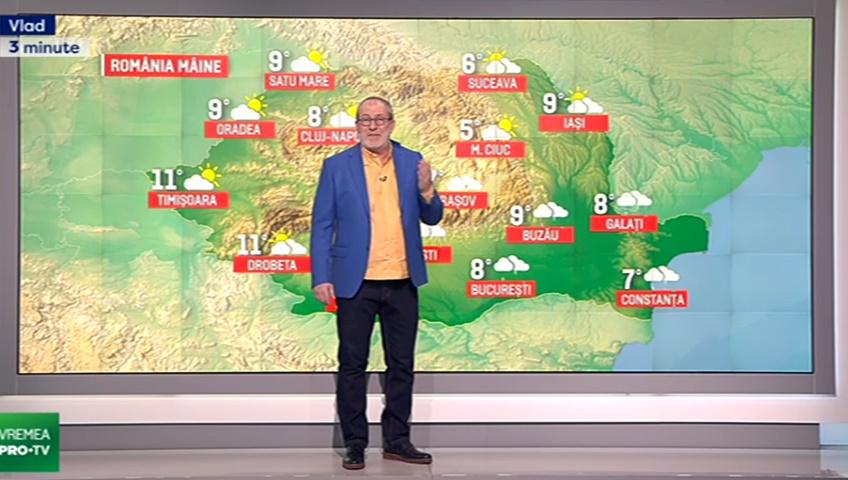 Vremea Pro TVcu Florin Busuioc 12 martie