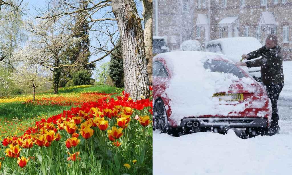 Vremea ANM 25 martie - 22 aprilie 2019 - Prognoza meteo pentru 4 săptămâni
