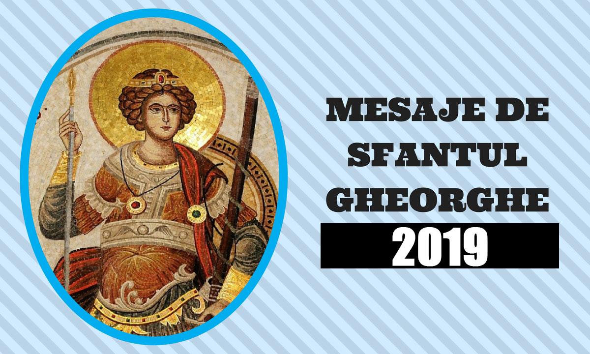 Mesaje de Sfântul Gheorghe 2019. Urări, felicitări și sms-uri frumoase pentru cei dragi