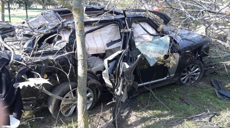În urma accidentului conducătorul auto a decedat.