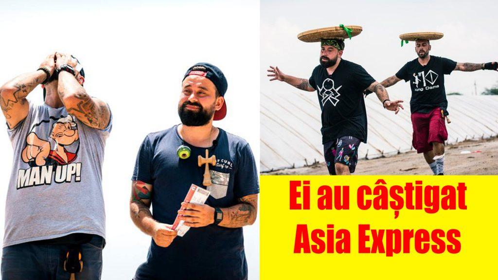 Câștigători Asia Express 2019 – sezonul 2. CRBL și Oase pleacă acasă cu premiul