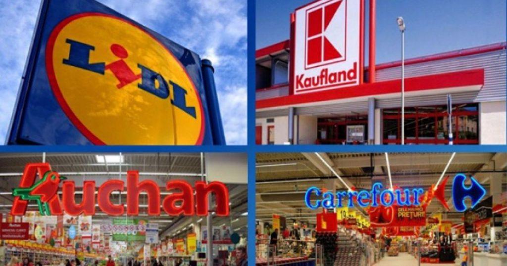 Program de Paste: Carrefour, Auchan, Kaufland, Cora, Lidl, Mega Image, mall-uri si magazine