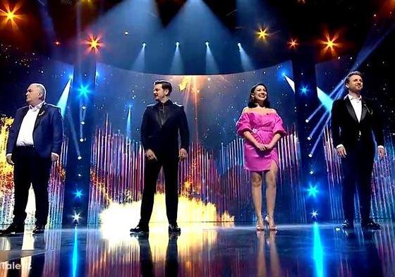 Andra, apariţie spectaculoasă la prima semifinală Românii au talent