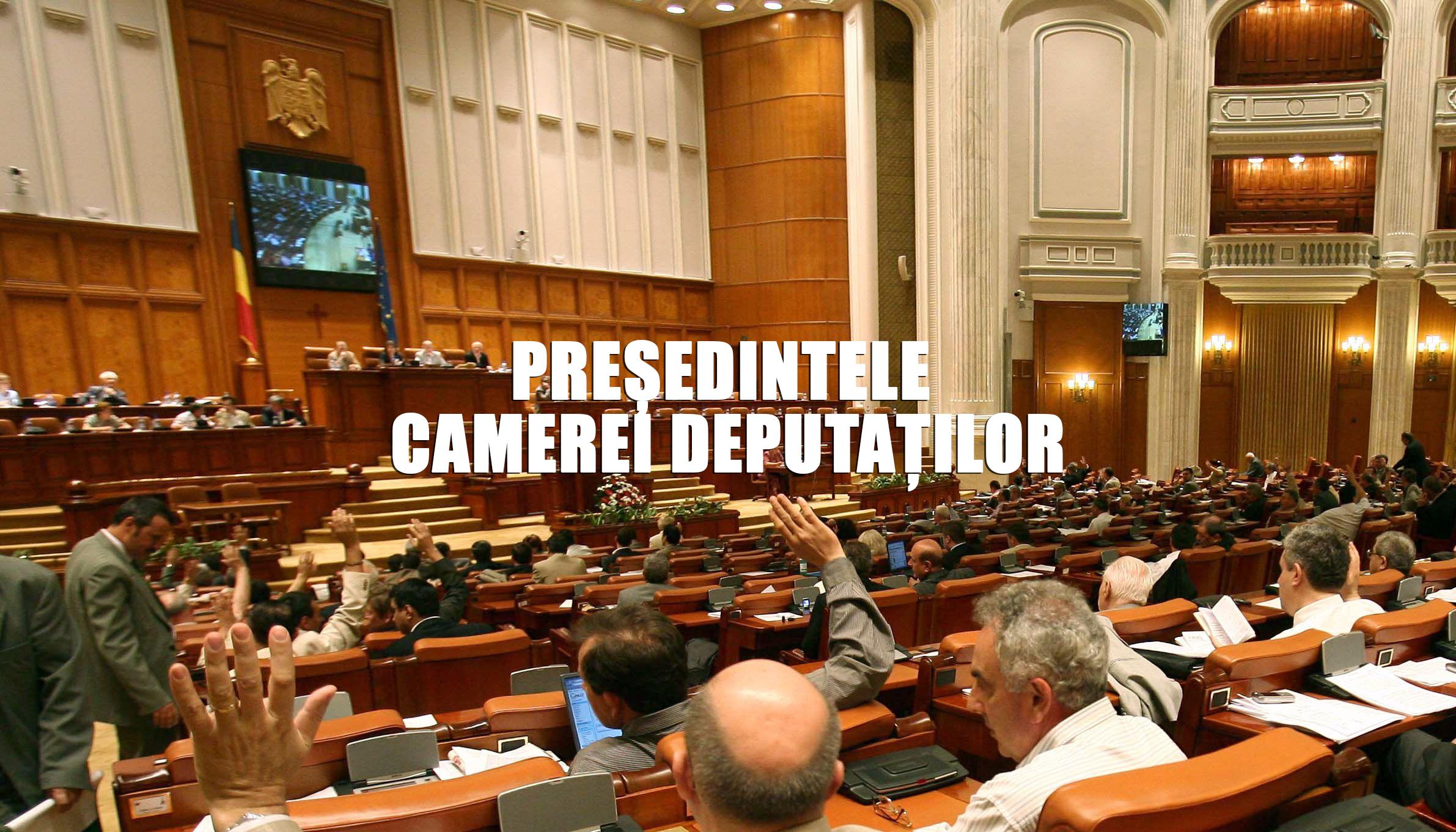 Camera Deputaților are un nou șef! Ales cu Circ și Scandal