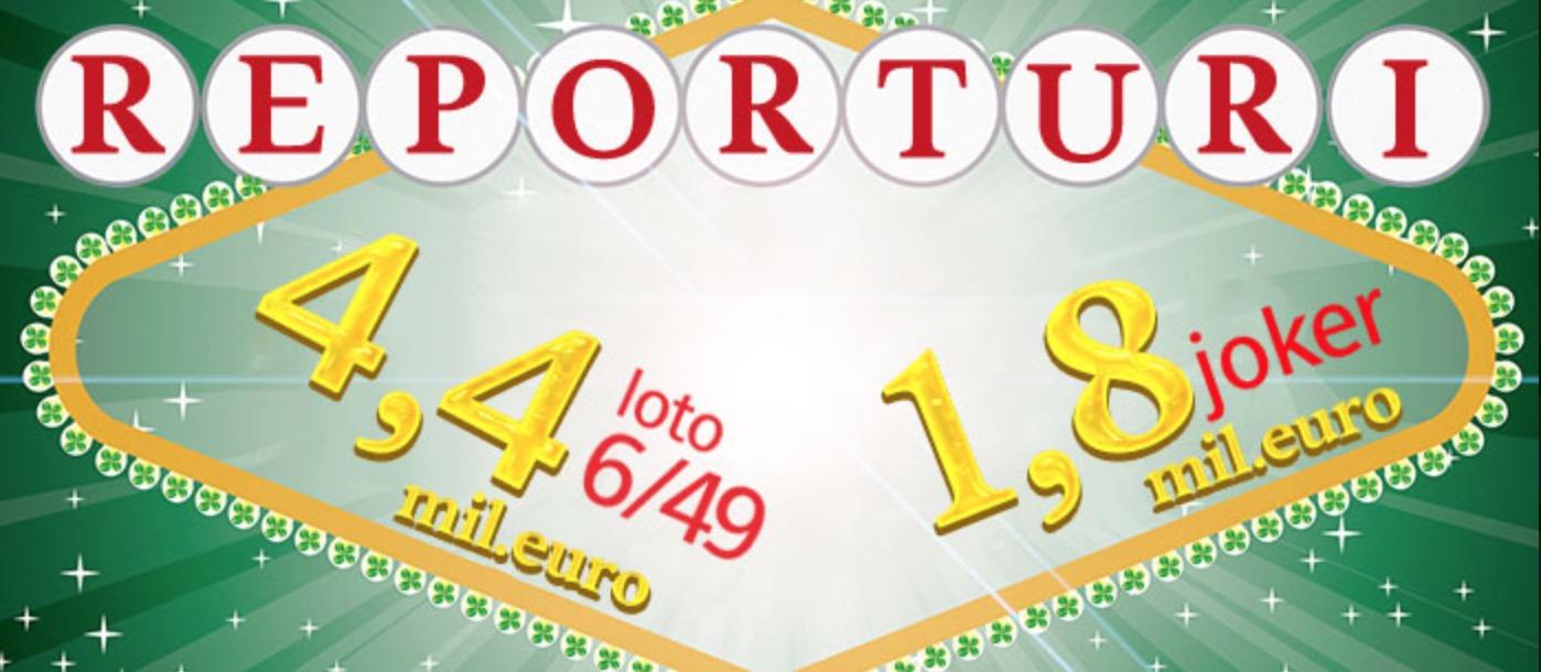 Loteria Romana. Rezultate loto 6/49, Joker, Noroc, Noroc plus, 5/40, Super Noroc
