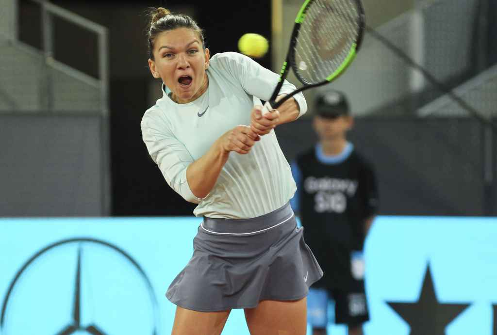 Simona Halep s-a calificat in turneul de la Madrid