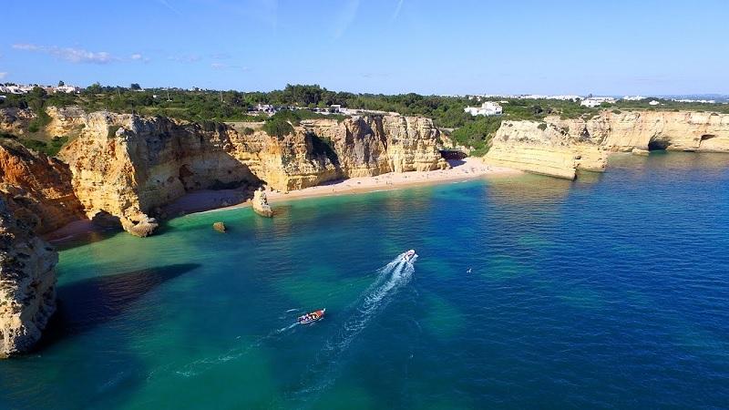Praia da Marinha, Algarve, Portugalia