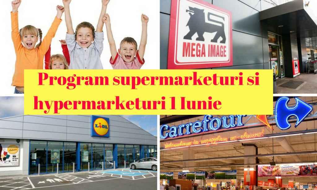 Program supermarketuri și hypermarketuri 17 Iunie 2019. Află care este programul de 17 Iunie a celor mai importante mall-uri și magazine.