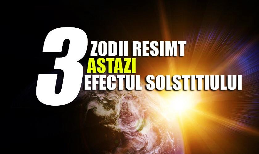 Top 5 zodii afectate de solstițiul de vară 2019