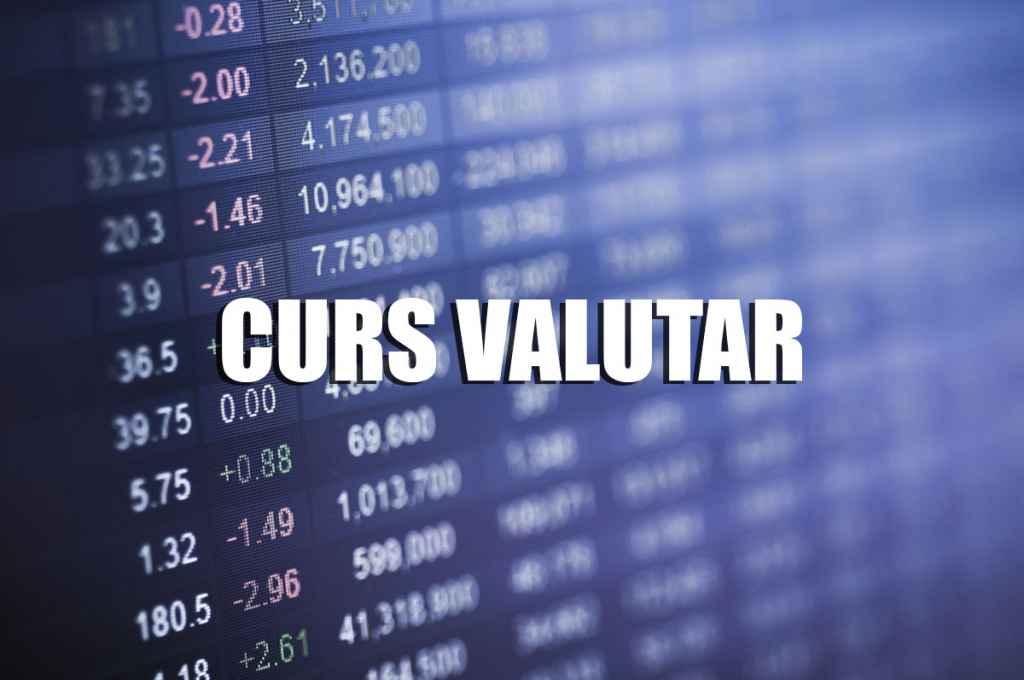 Curs Valutar BNR, Bănci Comerciale și case de schimb de vineri 21 iunie
