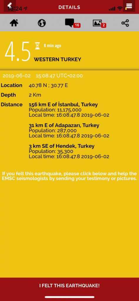 Cutremur în Turcia. La doar 156 de kilmetri de Istanbul s-a produs un seism