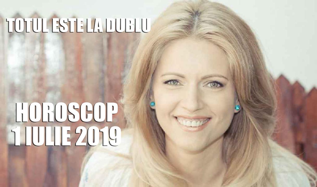 Horoscop Nicoleta Svârlefus 1 iulie 2019 - Totul este la dublu în prima luni din luna lui cuptor