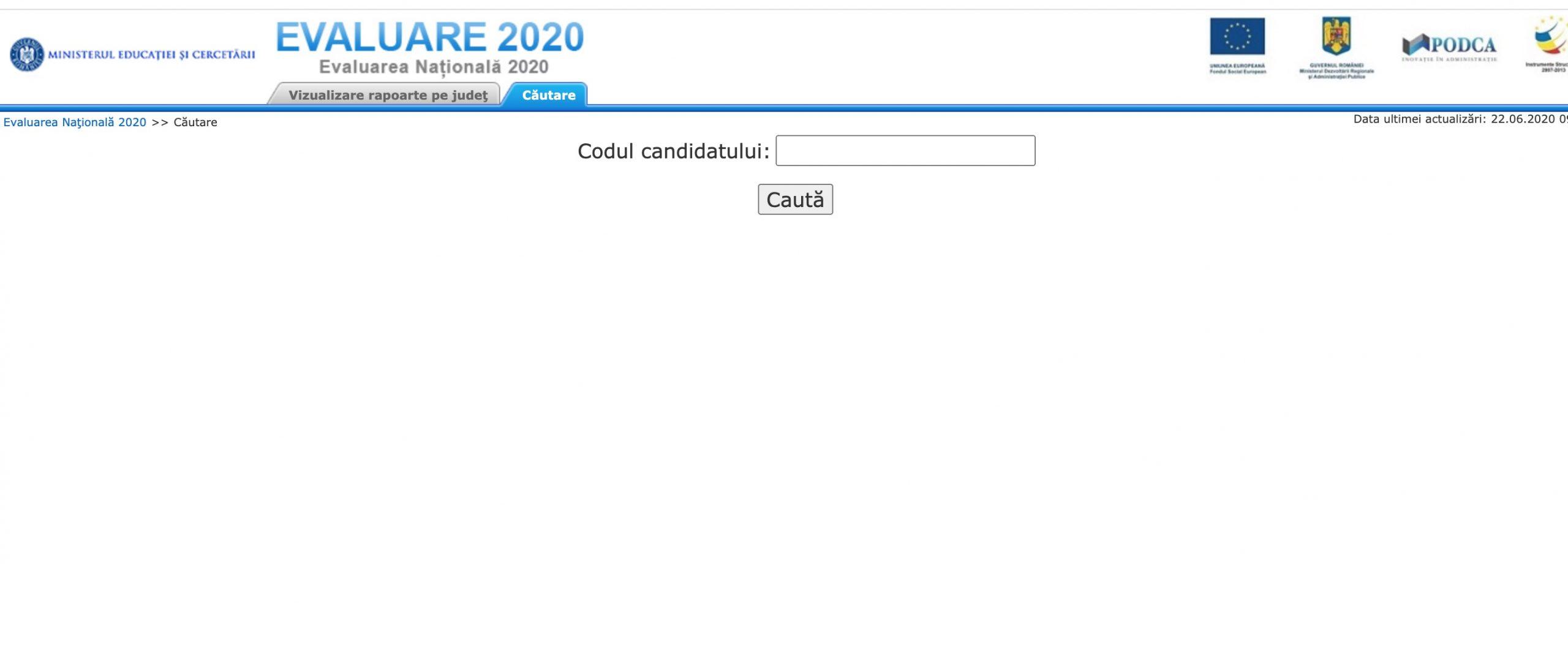 Rezultate Evaluarea Națională 2020 Ilfov Notele afișate pe Edu.ro