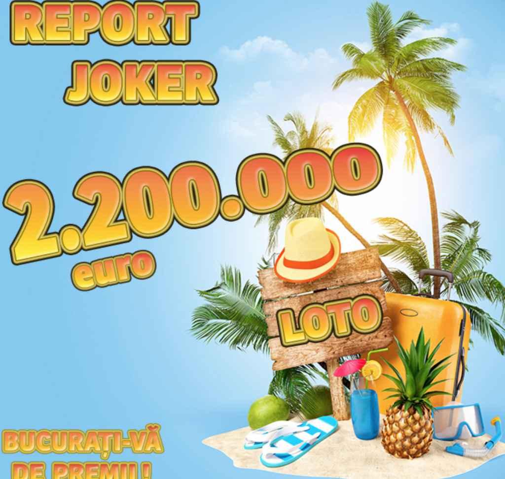 Report uriaș la Joker, rezultate loto 16 iunie 2019