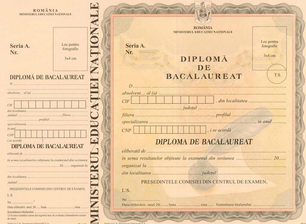 Rezultate Bacalaureat 2019. Cum arată diploma de Bac