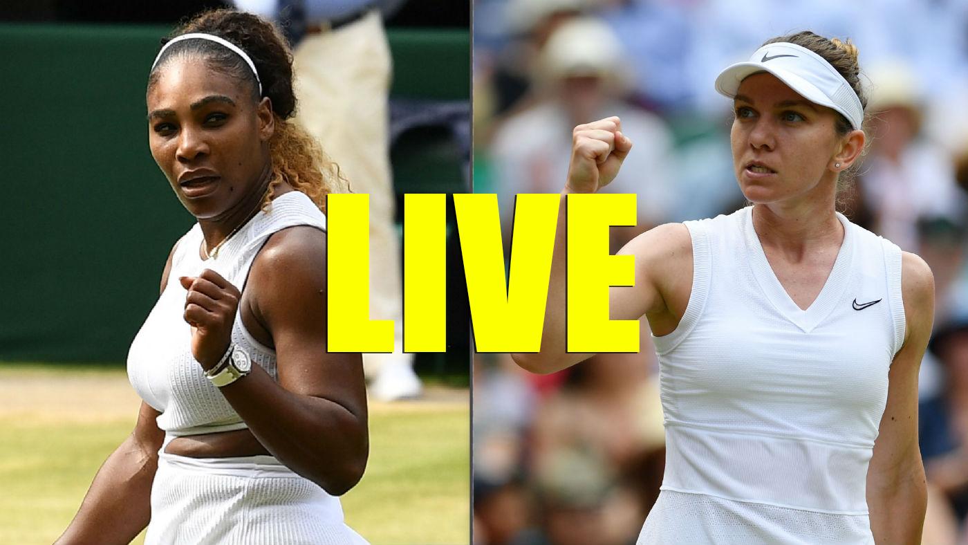 Simona Halep VS Serena Williams Live Eurosport 2 Stream VIDEO   Finala Wimbledon