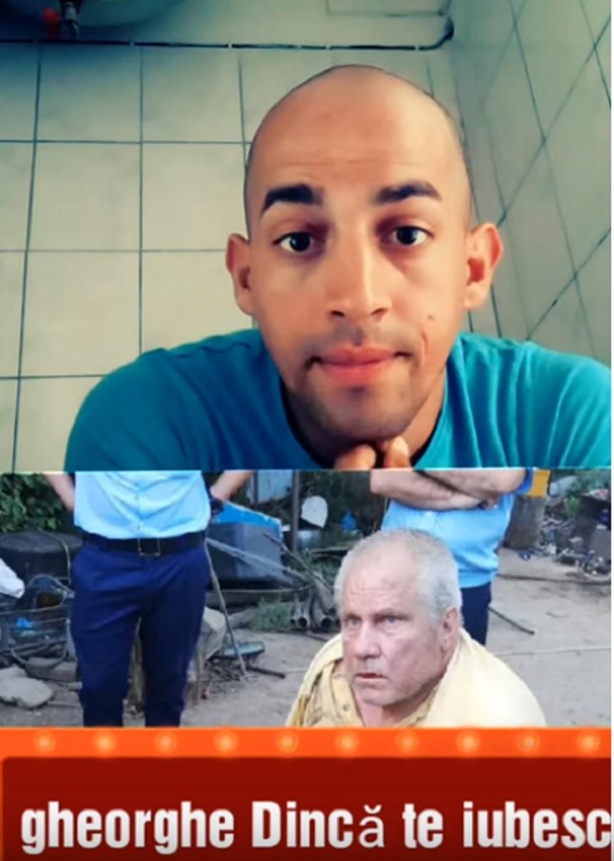 """Revoltător! Poliţia ar trebui să ia măsuri! El este tânărul care îl aplaudă pe Gheorghe Dincă, criminalul din Caracal: """"Te susţin până la sfârşitul vieţii tale"""". VIDEO"""